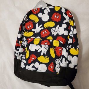 Disney Mickey Mouse Parts Backpack - NWT